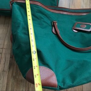 1afc71a87296 ... free shipping polo by ralph lauren bags vintage polo ralph lauren  luggage set green dfc8c 1f8a3